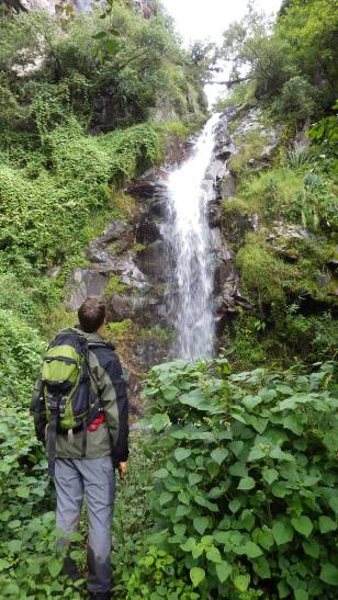 "Hiker: ""What a gorgeous waterfall!"". Forest ecologist: ""How am I supposed to get up this gorge now?"""