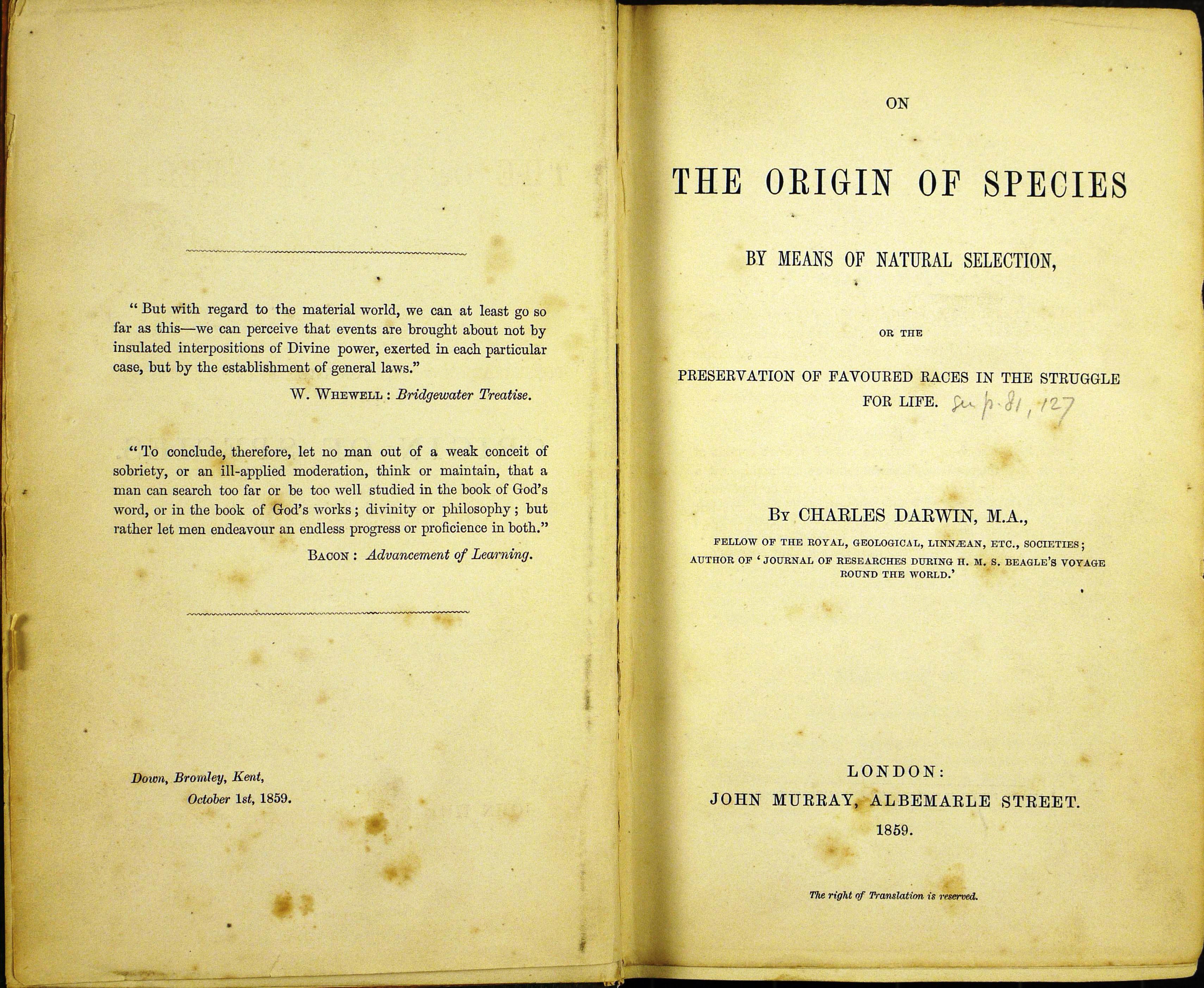 V.D10 Origin 1st edn title page_0
